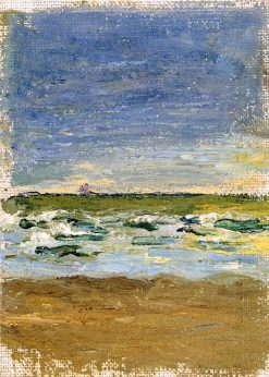 Surf at the Seashore (also known as Meeresbrandung) | Gabriele Münter | Oil Painting