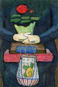Still Life on the Tram (also known as After Shopping) | Gabriele Münter | Oil Painting