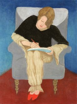 Lady in an Armchair