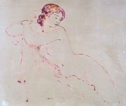 Nude | Georges Lemmen | Oil Painting