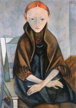 Sick Girl   Anita Rée   Oil Painting