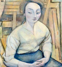 Agnes I | Anita Rée | Oil Painting