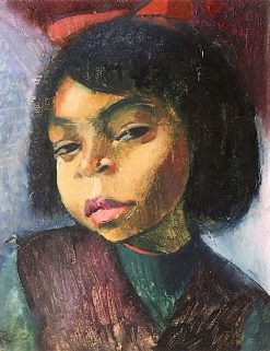 Girl of Color | Anita Rée | Oil Painting