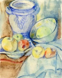 Still Life with Apples   Anita Rée   Oil Painting