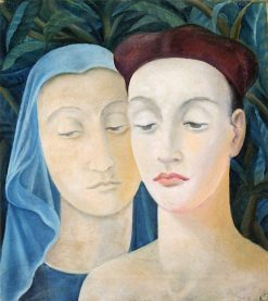 Couple (also known as Two Roman Heads) | Anita Rée | Oil Painting