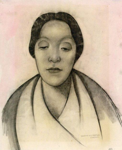 Signora Giuseppina Contasti | Anita Rée | Oil Painting