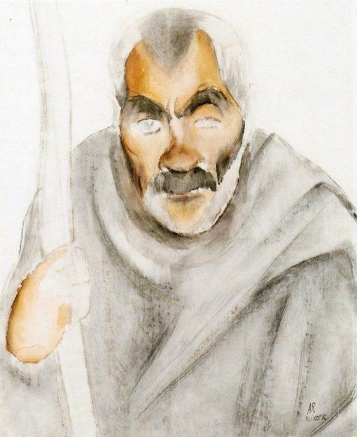 Blind Beggar   Anita Rée   Oil Painting