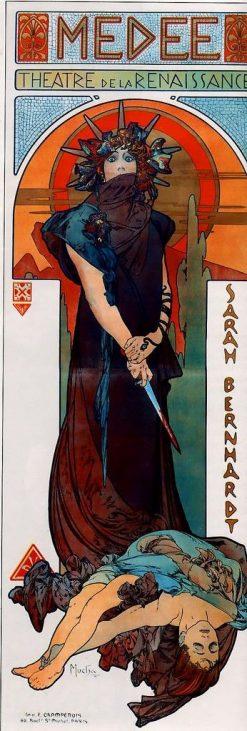 Medea   Alfons Mucha   Oil Painting