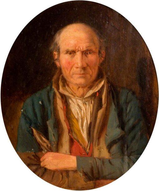 Portrait of a Man   Paul Falconer Poole   Oil Painting