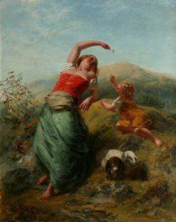 Rustic Scene | Paul Falconer Poole | Oil Painting