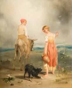 The Heath Belle | Paul Falconer Poole | Oil Painting