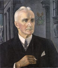 Portrait of Gustav Pauli | Anita Rée | Oil Painting