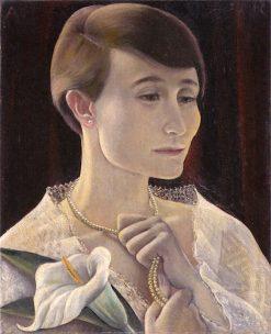 Portrait of Hilde Zoepffel | Anita Rée | Oil Painting