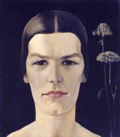 Portrait of Hilegard Hesse | Anita Rée | Oil Painting