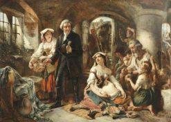 John Howard Visiting the Prisons in Italy | Thomas Falcon Marshall | Oil Painting