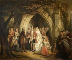 The Village Wedding | Thomas Falcon Marshall | Oil Painting