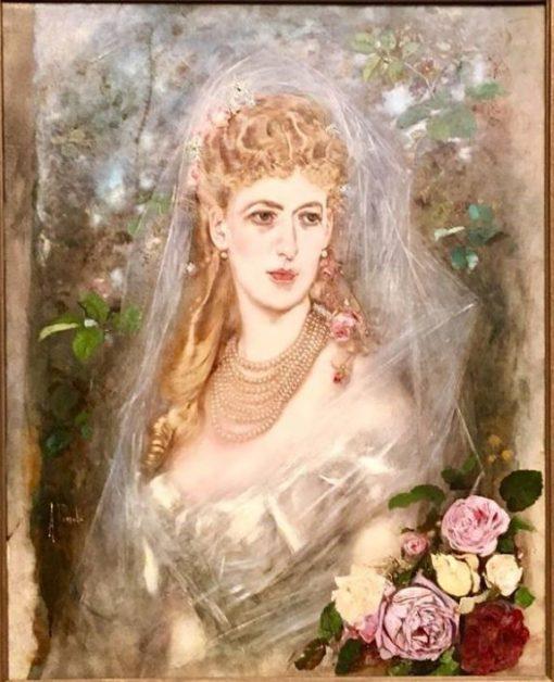 The Bride | Anton Romako | Oil Painting