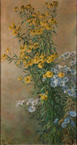 Autumn Flowers | Gunnar Gunnarsson Wennerberg | Oil Painting