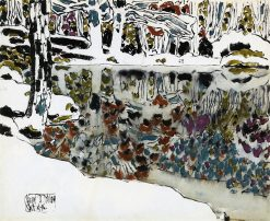 Bishop's Pond (also known as Reflections) | David Milne | Oil Painting