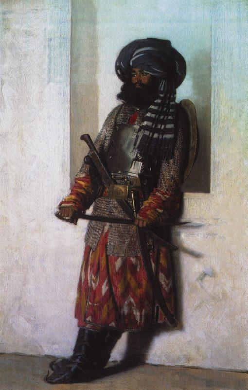 Afghan Man | Vasily Vasilevich Vereshchagin | Oil Painting