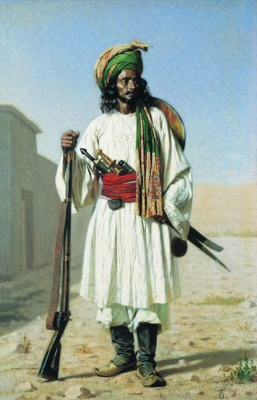 Afghan Man | Vasily Vasilevich Vereshchagin | Oil Painting