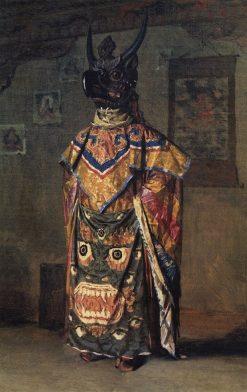 Buddhist Lama | Vasily Vasilevich Vereshchagin | Oil Painting
