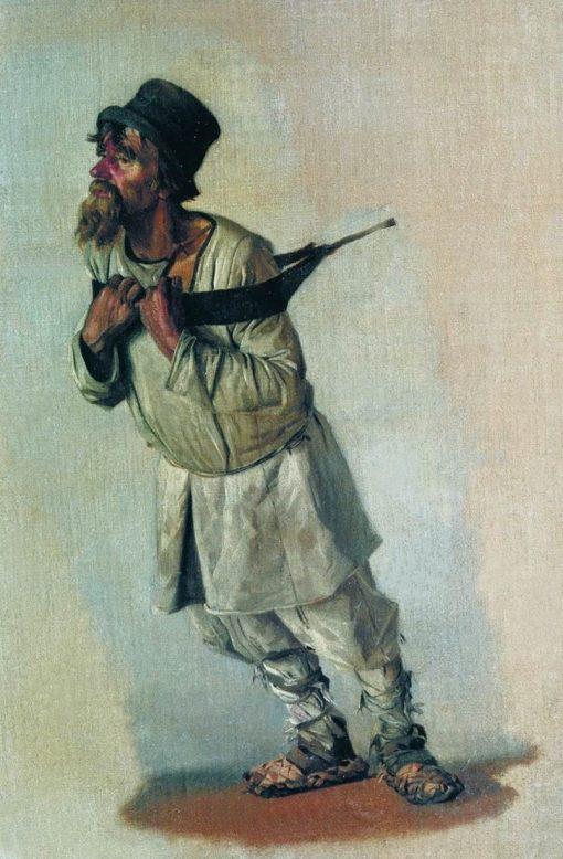 Barge Hauler | Vasily Vasilevich Vereshchagin | Oil Painting