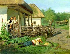 Big Disappointment   Vladimir Yegorovich Makovsky   Oil Painting