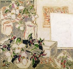 Framed Etching (also known as Lilies from the Bush) | David Milne | Oil Painting