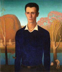 Arnold Comes of Age (also known as Portrait of Arnold Pyle) | Grant Wood | Oil Painting