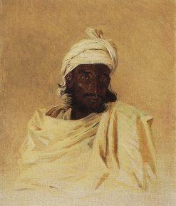 Bhil Man | Vasily Vasilevich Vereshchagin | Oil Painting