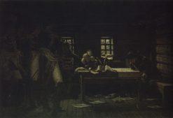 Napoleon in Gorodnya | Vasily Vasilevich Vereshchagin | Oil Painting