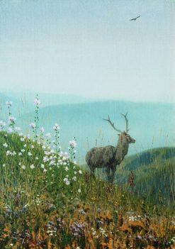 In the Mountains of Alatau | Vasily Vasilevich Vereshchagin | Oil Painting
