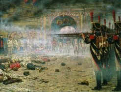 Napoleon's Troops in Moscow | Vasily Vasilevich Vereshchagin | Oil Painting