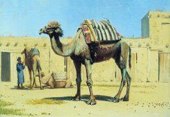 Camel | Vasily Vasilevich Vereshchagin | Oil Painting