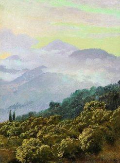 Crimean Mountains | Vasily Vasilevich Vereshchagin | Oil Painting