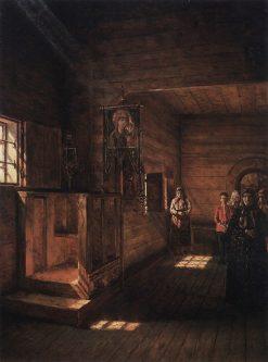 Church Interior | Vasily Vasilevich Vereshchagin | Oil Painting