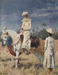 Rider in Jaipur | Vasily Vasilevich Vereshchagin | Oil Painting