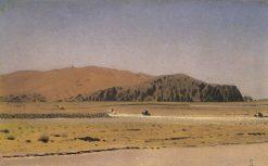 Crossing the River | Vasily Vasilevich Vereshchagin | Oil Painting