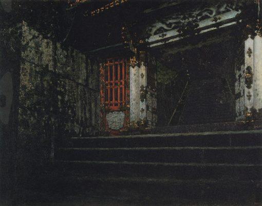 Entrance to the Temple | Vasily Vasilevich Vereshchagin | Oil Painting