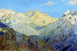 The Himalayan Mountains | Vasily Vasilevich Vereshchagin | Oil Painting