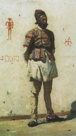 Indian Man | Vasily Vasilevich Vereshchagin | Oil Painting