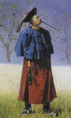 Chinese Man | Vasily Vasilevich Vereshchagin | Oil Painting