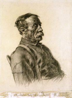 Père Moreau | Marc-Aurele de Foy Suzor-Cote | Oil Painting