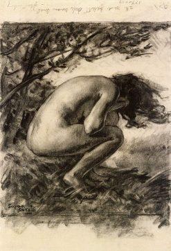 The Moaning of the Wind   Marc-Aurele de Foy Suzor-Cote   Oil Painting