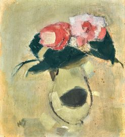 Camellias | Helene Schjerfbeck | Oil Painting