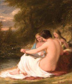 Women in a Landscape | Robert Walter Weir | Oil Painting