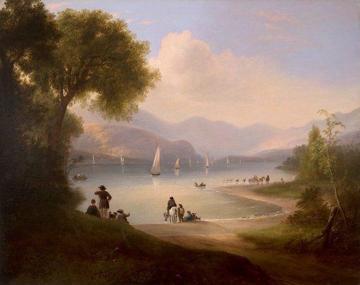 River Landscape | Alvan Fisher | Oil Painting