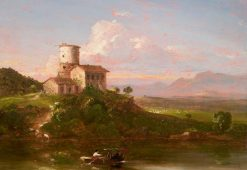 On the Tiber | Thomas Cole | Oil Painting