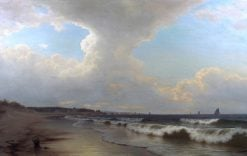 Coastal Scene | William Frederick de Haas | Oil Painting